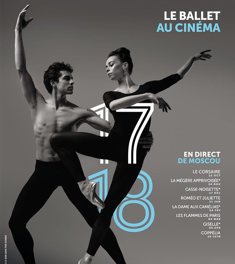 Ballet du Bolchoï – Pathé Live 2017-2018
