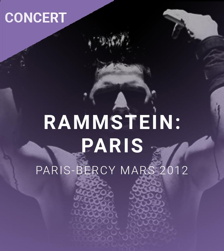 Concert filmé Rammstein: Paris