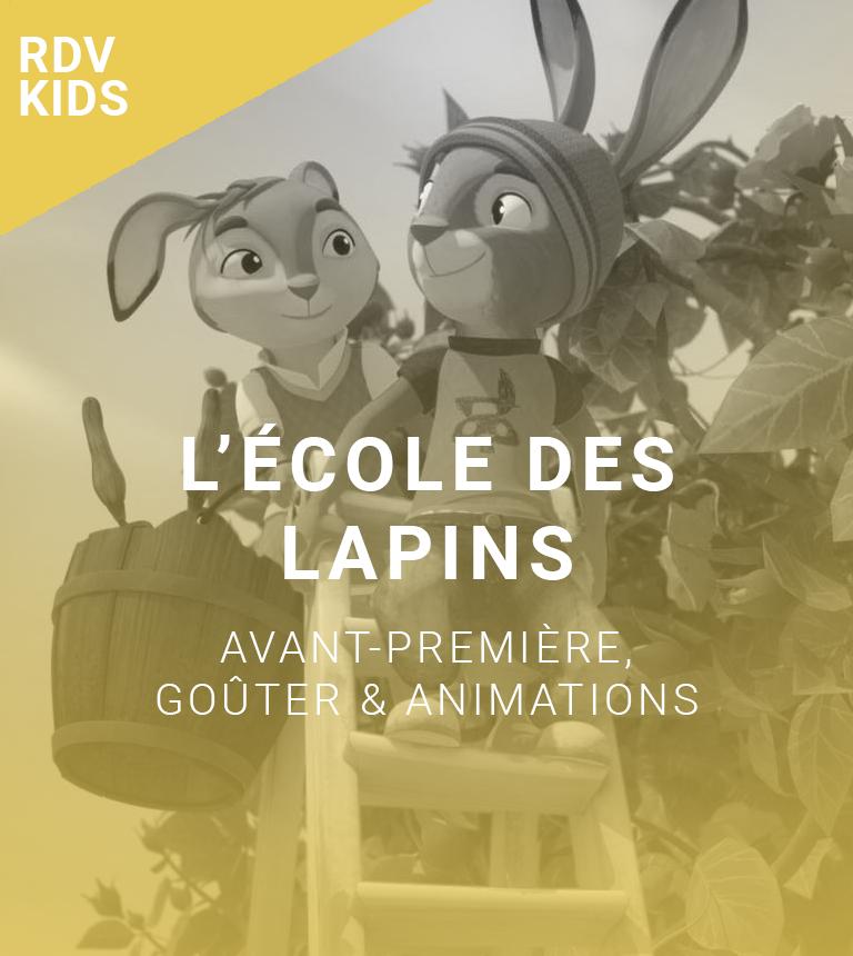 Rendez-vous kids : l'école des lapins