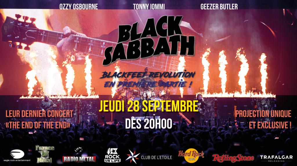 Carton écran - Black Sabbath