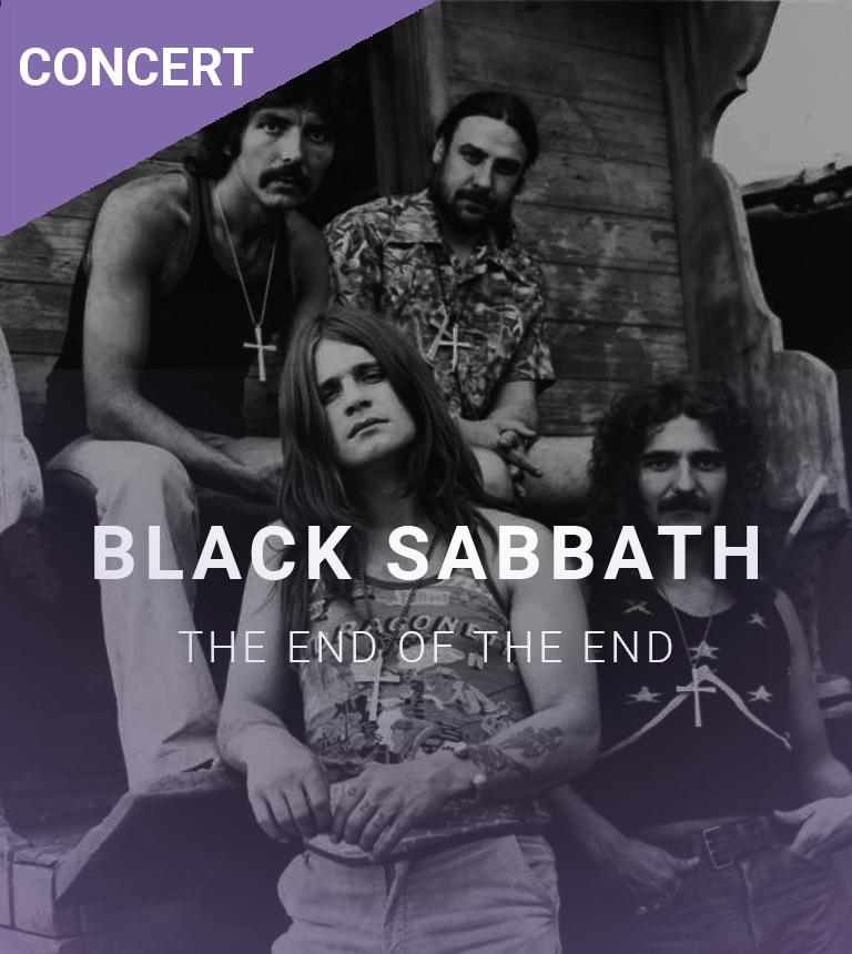Concert filmé Black Sabbath – The End Of The End