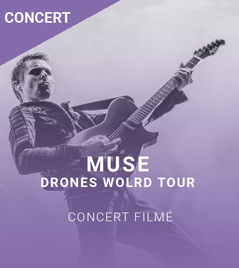 Muse : Drones World Tour (concert + projection)