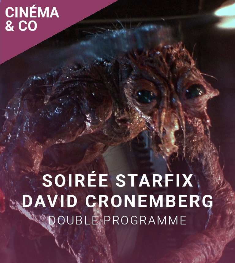 Double affiche STARFIX : La Mouche + Dead Zone