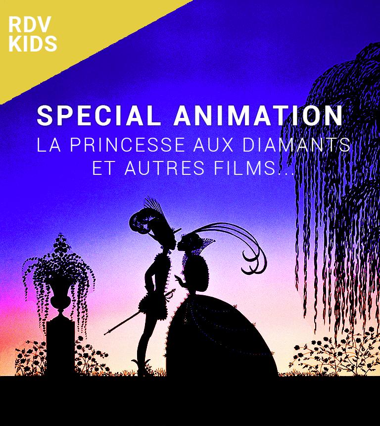 Spécial animation : La Princesse aux Diamants et autres films…
