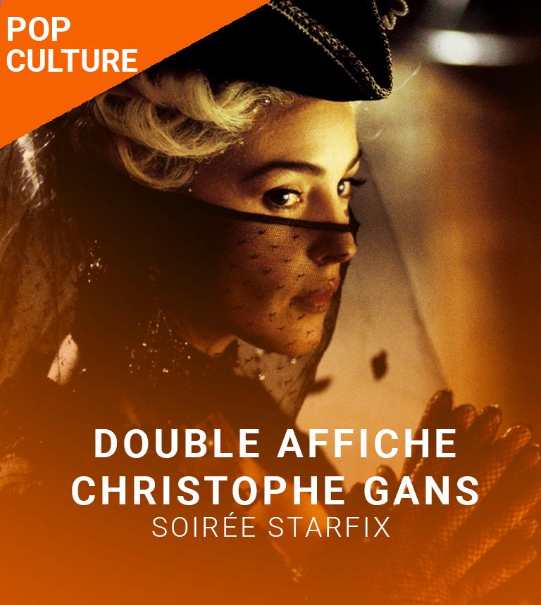 Double Affiche STARFIX :  Le Pacte des Loups et Crying Freeman