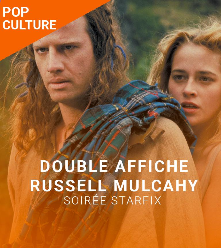 Double Affiche STARFIX :  Razorbacks et Highlander