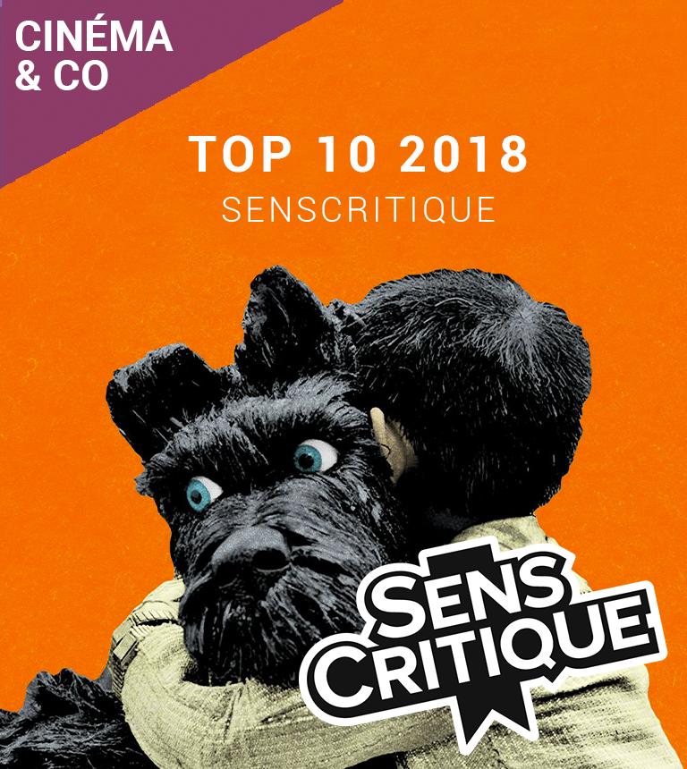 SENSCRITIQUE TOP 10 2018