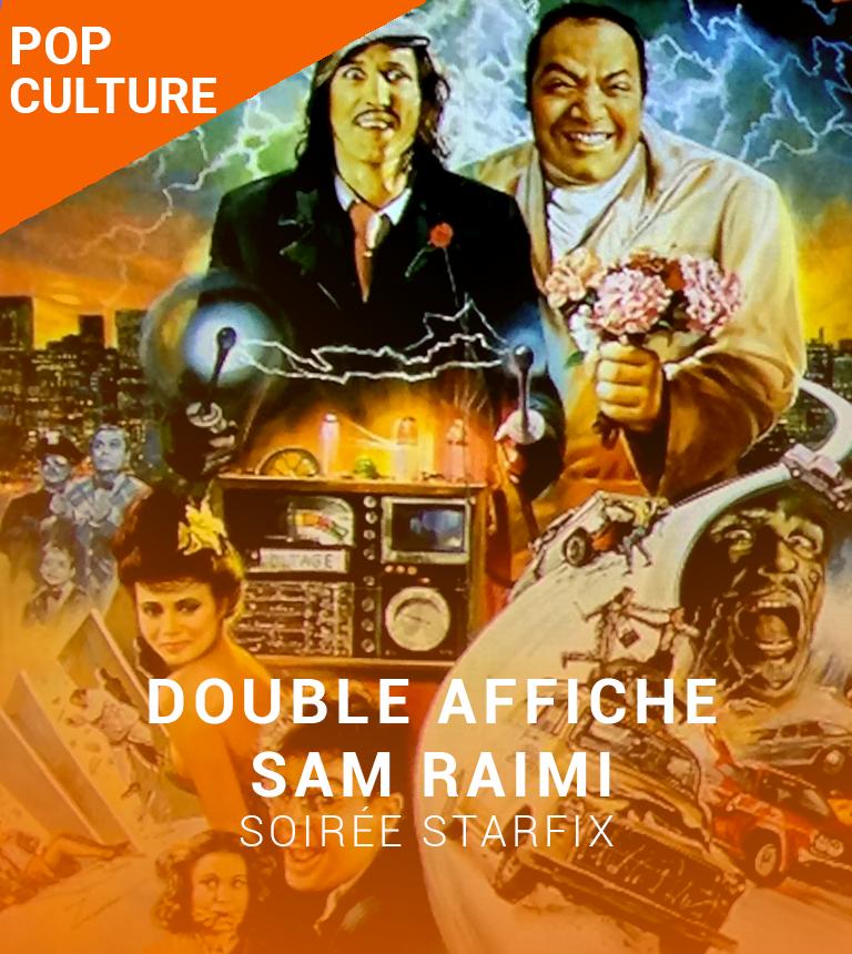 Double Affiche STARFIX :  Darkman & Mort sur le Grill