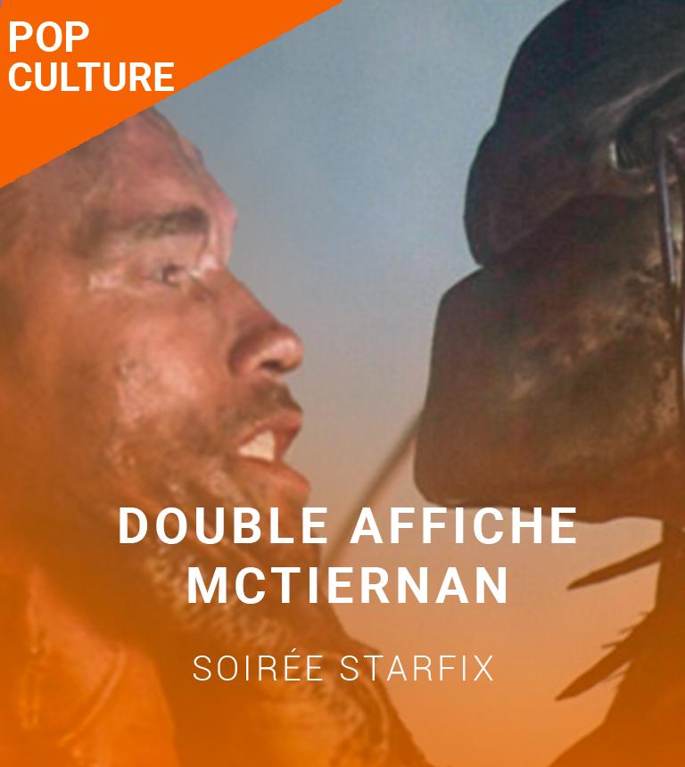 Double Affiche STARFIX :  John McTiernan – Nomads & Predator