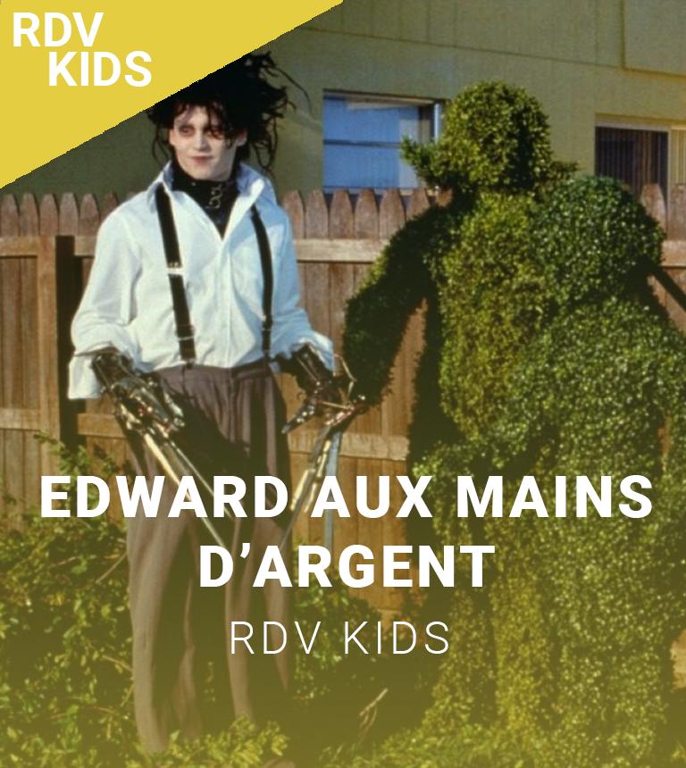 Ciné-spectacle : Edward aux mains d'argent