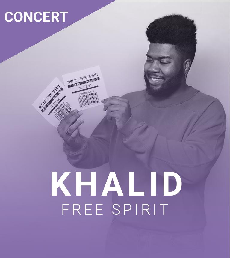 Projection Unique : Khalid, Free Spirit