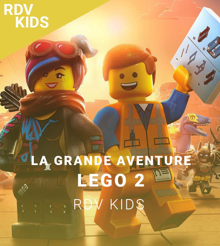 Ciné-spectacle : La grande aventure Lego 2