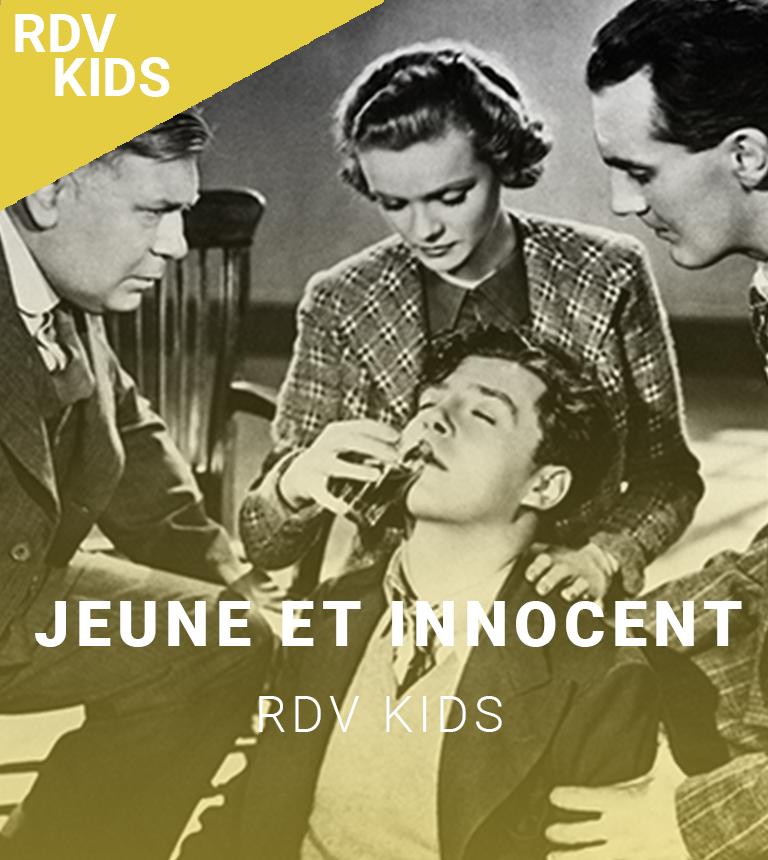Ciné-spectacle : Jeune et innocent (Hitchcock)