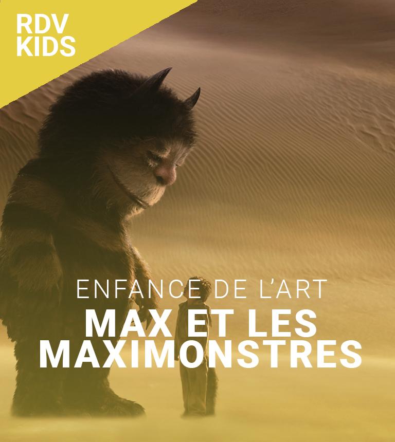 Max et les maximonstres – Enfance de l'Art