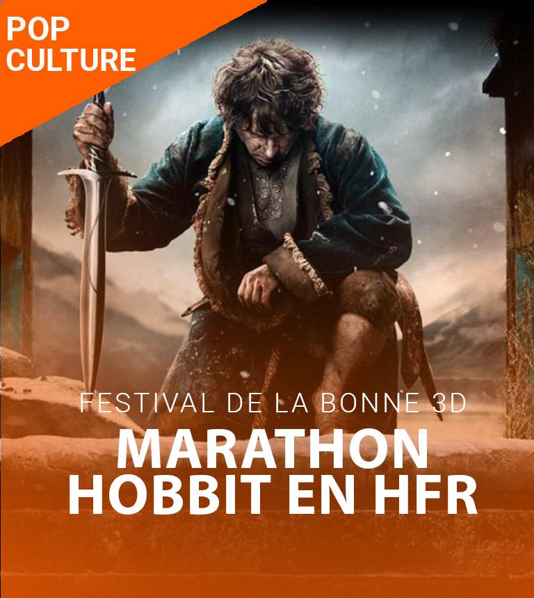 Festival de la Bonne 3D – Marathon Hobbit en HFR