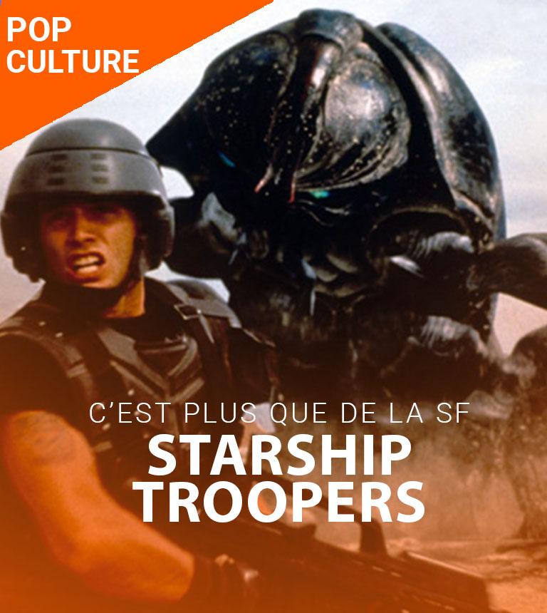 C'est plus que de la SF #3 – Starship Troopers
